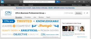 LinkedIn Groups for CPAS