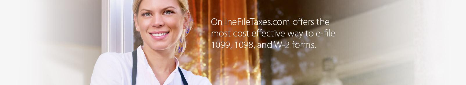 OnlineFileTaxes Com - Easily E-File 1099 Forms